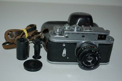 Zorki 4 Vintage 1973 Soviet Rangefinder Camera & Industar-50. 73558561. UK Sale