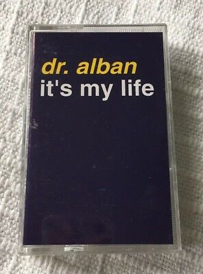 Dr. Alban - It's my life - cassette tape single