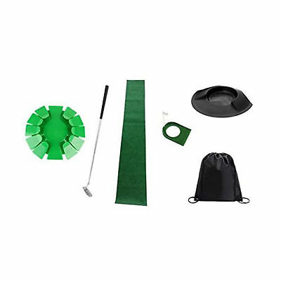 Posma Putting Cup Golf Loch Trainingshilfe Bundle Set+ Putting Cup abnehmbarer