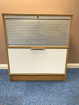 Ikea Galant Storage / File Cupboard. Oak Colour And In Good Condition.