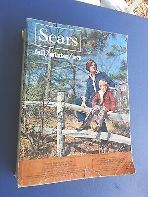 Sears 1975 Fall & Winter Catalog, 1491 Pages