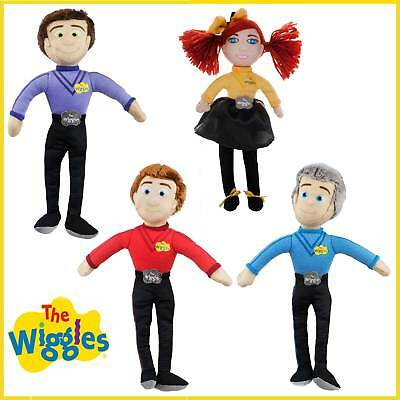 The Wiggles Plush Toy Emma Lachy Simon Anthony Wiggle Doll Licensed Soft Gift