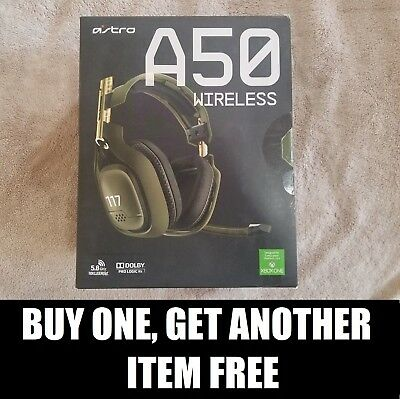 Astro Gaming HALO A50 Headset EMPTY BOX for Xbox One [ONLY] for Halo 5 Guardians