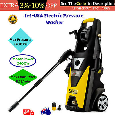 Jet-USA 3500 PSI High Power Pressure Water Cleaner Washer Electric Pump 8M Hose