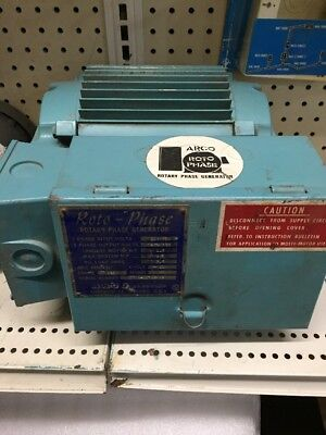 ARCO Roto-Phase - 5 HP, 230 Volt USED