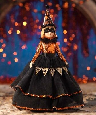 "Bethany Lowe  ""Magic Halloween Doll"" Figurine  ~      **FREE SHIPPING**"