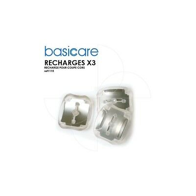 Basicare - X3 recharges pour coupe cors