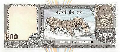 Nepal  500  Rupees  ND. 2000  P 43 Uncirculated Banknote