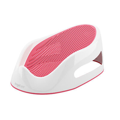 Angelcare Soft-Touch Baby Bath Support Red | Anti Slip | Mould Resistant