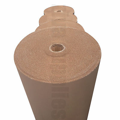 Corrugated Cardboard Rolls - REDUCED TO CLEAR Cheapest full Rolls of 75m on eBay
