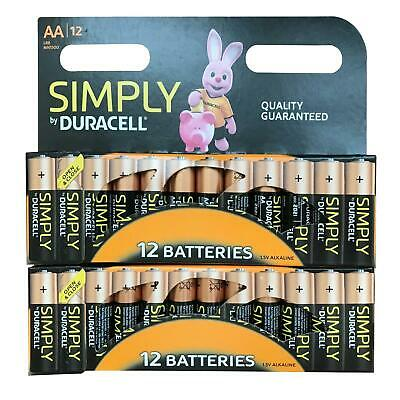 28 X Duracell AA Industrial Battery MN1500 Alkaline Replaces Procell Expiry 2023