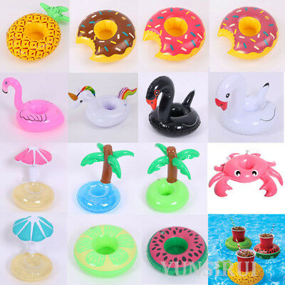 Swim Water Inflatable Floats Drink Cup Holder Summer Beach Pool Party Supplies