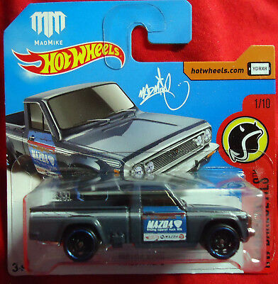 Mazda Repu - Mad Mike - Hot Wheels - Daredevils Card