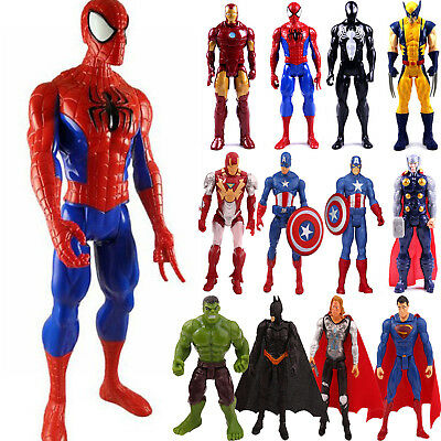 Marvel The Avengers Super Hero Captain America Hulk Action Figure Toy Collection