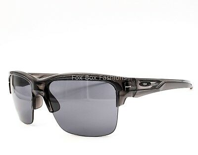 3f4e74a0ec OAKLEY THINLINK ASIAN Fit OO9317-02 Grey Smoke Frame   Jade Iridium ...