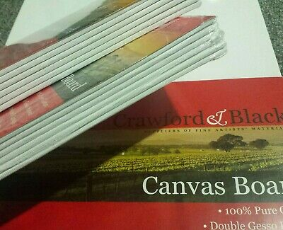 Blank Stretched  Canvas boards . Premium Quality.  sizes 5x7 and 10x12 inches