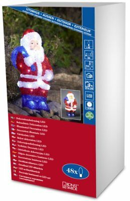 Konstsmide Acrylic Santa, LED 48lamp(s) Suitable for outdoor use LED (v2A)