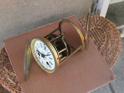 ANTIQUE FRENCH MANTEL CLOCK MOVEMENT-19th c-WORKS.