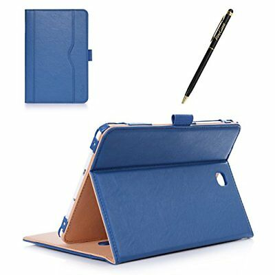 Samsung Galaxy Tab S2 8.0 Case SMT710 T715 T713 Leather Stand Folio Cover Blue
