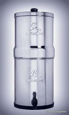 NEW (81sold) ALEXAPURE PRO StainlessSteel Water Filtration System 5000Gal Filter