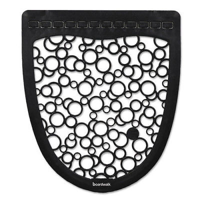 Boardwalk Urinal Mat 2.0, Rubber, 17 1/2 X 20, Black/white, 6/carton  UMBW New