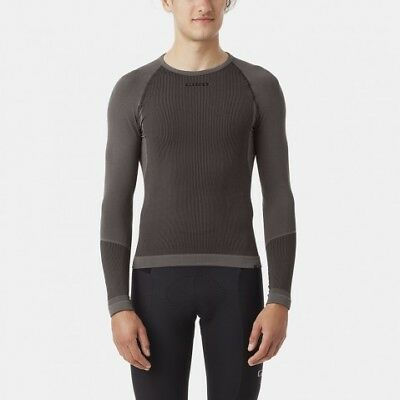 Giro Chrono LS Base Layer Cycle Grey Medium Large