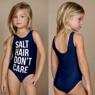 AU Kids Baby Girls Summer Swimwear Bikini Tankini Swimsuit Swimming Beachwear