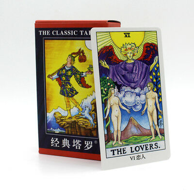 78 cards Quality Tarot The Rider Classic Animal Totem Rider Waite Metaphysical