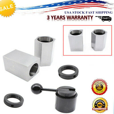 5C Collet Block Chuck Set - Square ,Hex ,Rings,Closer Holder For Lathes/Grinders