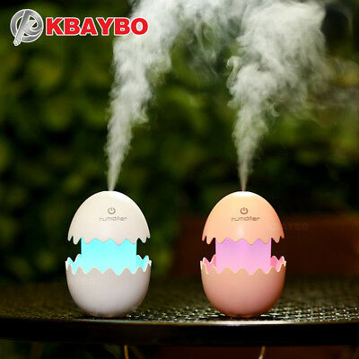 KBAYBO 100ml Diffuser Aroma Air Humidifier DC5V USB Ultrasonic Mist Maker funny