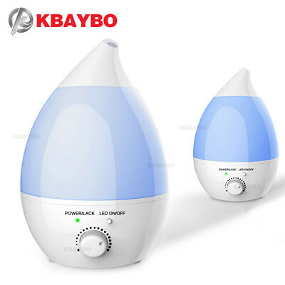 KBAYBO 1.3L Air Humidifier Ultrasonic Humidifier Mute Home Aroma Diffuser