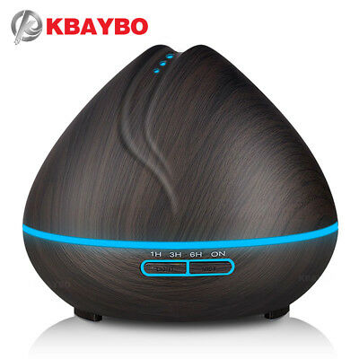 KBAYBO 400ml Aroma Essential Oil Diffuser Ultrasonic Air Humidifier purifier