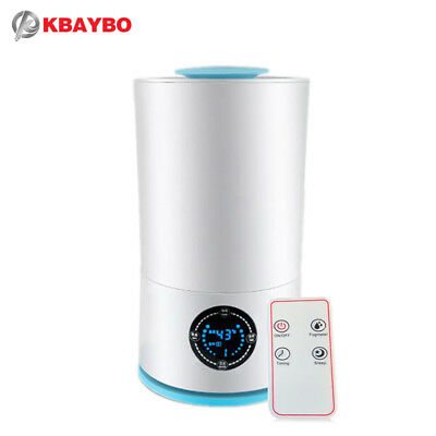 KBAYBO Aroma Essential Oil Diffuser Ultrasonic Cool Mist Humidifier LED Night