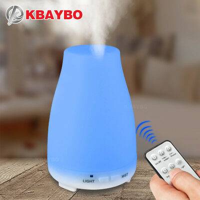 KBAYBO 200ml Aroma Essential Oil Diffuser ultrasonic air Humidifier aromatherapy