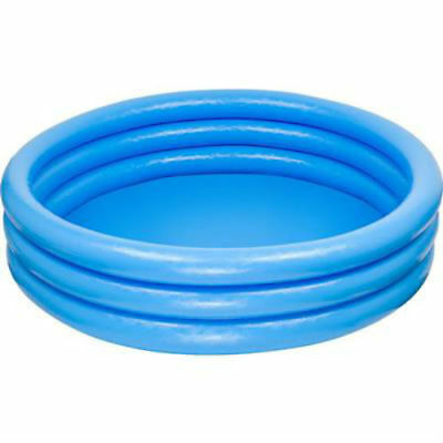 Crystal Blue Paddling Pool 3-Ring 1.68m x 38cm from Intex Inflatables