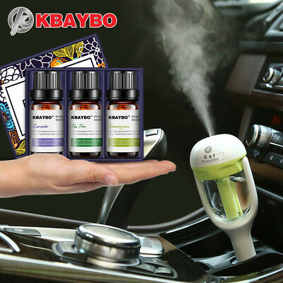 KBAYBO Mini Car Aroma essential oil Diffuser Humidifier Aromatherapy Portable