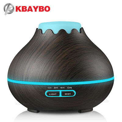 KBAYBO 400ml Air Humidifier Essential Oil Diffuser Aroma Lamp Aromatherapy