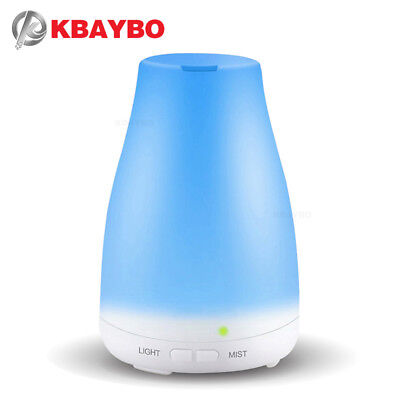 KBAYBO Essential Oil Diffuser, 120ml Aroma Essential Oil Cool Mist Humidifier, 7