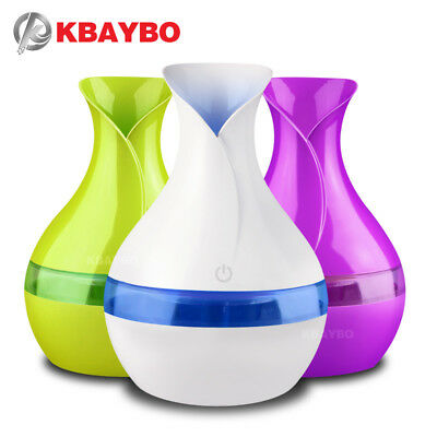 KBAYBO electric aroma Essential Oil Diffuser 300ml USB Mini Ultrasonic Air