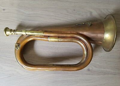 Bugle - Military - Copper And Brass