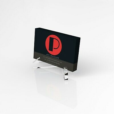 Business Card Holder / Acrylic Stand / Landscape Business Card /Card Dispenser