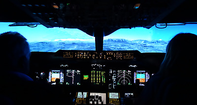 Motion Flight Simulator Experience - 120 mins - Coventry Airport