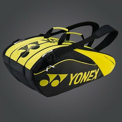 Yonex Pro 9 Pack Black/Lime Bag