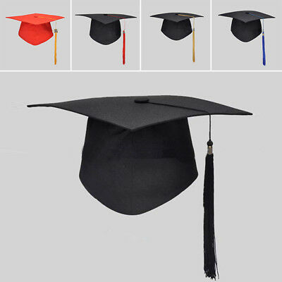 Graduation Mortar Fashion Academic Bachelor Hot Student Ceremony Cap Board Hat