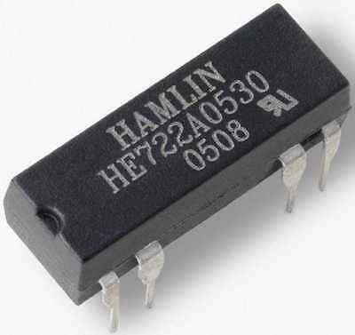 HE721A0500 Reed Relay SPST HE700 DIP 5V