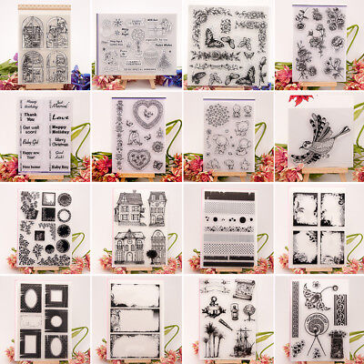 Creative Clear Silicone Seal Stamps For DIY Album Scrapbooking Photo Card Decor