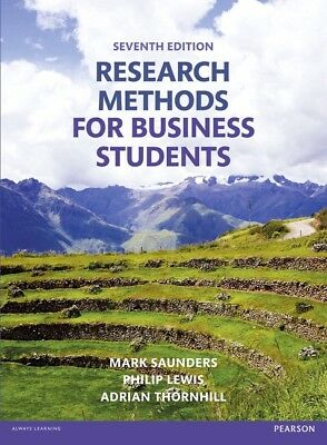 Research Methods for Business Students 7th Edition PDF by Thornhill