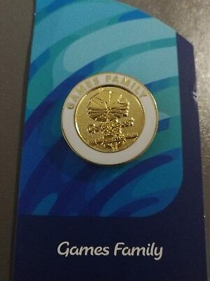 Gold Coast 2018 Commonwealth Games Family pin - new