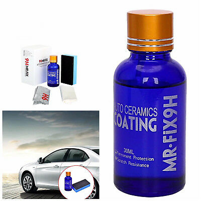 9H Liquid Ceramic Car Coating Super Hydrophobic Glass Polish Wax Paint Care