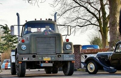 1972 US Army International Fleetstar 2000D Truck Screaming Detroit Diesel